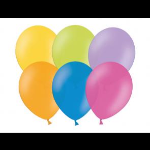 baloni, mix b.,  pastel, 30 cm, 1 kos