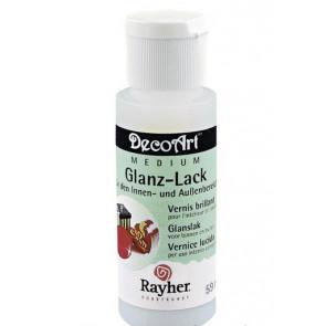 akrilni lak z leskom za zunanjo uporabo, Rayher, 59 ml, 1 kos