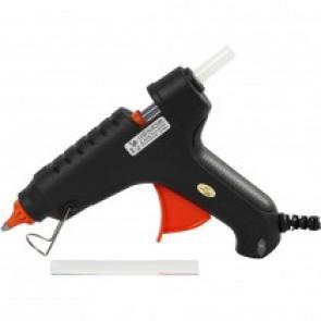 maxi pištola za lepljenje pri nizki temperaturi (130°C), debelina vložka: 11 mm (2 kosa lepila vključena), 1 kos