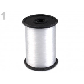 silikonska vrvica 0.23 mm, prozorna, neelastična, 1 kos (cca 350 m)