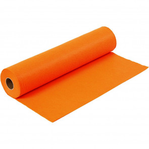 filc 1,5 mm, oranžen, 45 x 100 cm, 180-200 g/m2, 1 kos