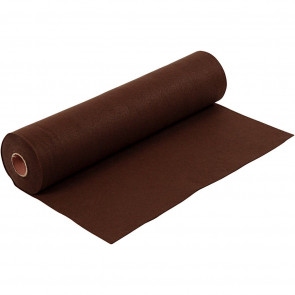 filc 1,5 mm, rjav, 45 x 100 cm, 180-200 g/m2, 1 kos