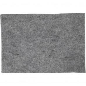 filc debeline 1.5-2 mm, sive b., A4 21x30 cm, 1 kos