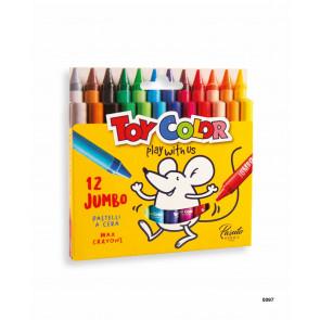 otroški flomastri na vodni osnovi Toy Color - pralni, konica: 5 mm, 1 komplet (12 kosov)