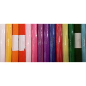 krep papir, 160 g, 2,5mx50cm, mix - osnovne barve, 1 kos