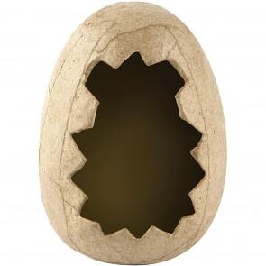 jajce (jajčna lupina) iz papirja/kartona 12 cm, 1 kos