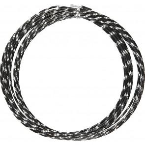aluminijasta barvna žica za oblikovanje, 2 mm, črna - rezana, 7 m