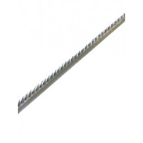 vrvica 2 mm, srebrne b., 1 m