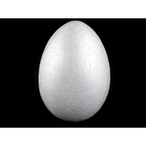 stiropor jajce 14x20 cm (višina: 20 cm), 1 kos