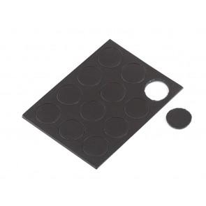 magnet - samolepilni - okrogel, premer magneta: 13 mm, 1 pola (12 kos)
