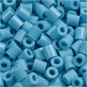 hama perle 5x5 mm, velikost luknje: 2.5 mm, turkizne b., cca 1000 kos