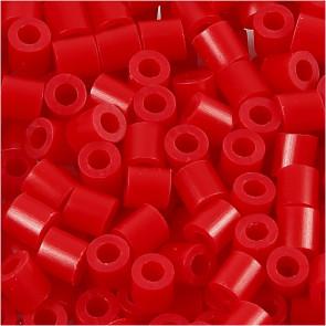 hama perle 5x5 mm, velikost luknje: 2.5 mm, rdeče b., cca 1000 kos