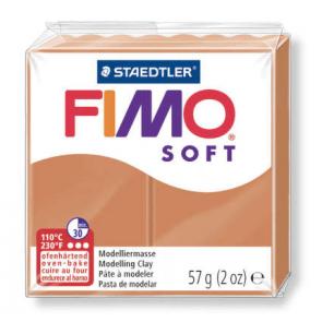 FIMO SOFT modelirna masa, konjak b. (76), 57 g