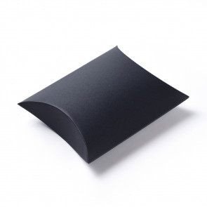 darilna embalaža za nakit, 16.5x13x4.2 cm, črna b., 1 kos