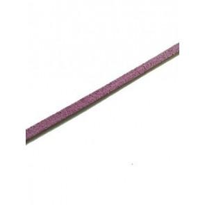 usnjeni trak 3 mm, vijola, 1 m