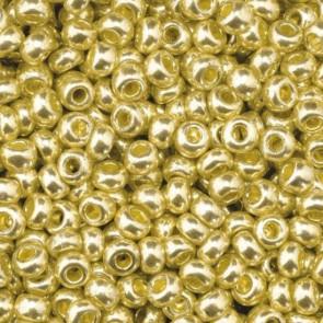 EFCO steklene perle 2,6 mm, zlate, kovinske barve, 17 g