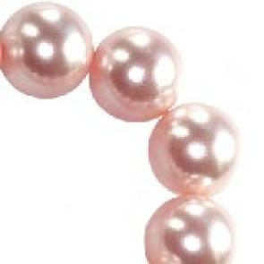 perle Swarovski okrogle, 6 mm, rosaline, 1 kos