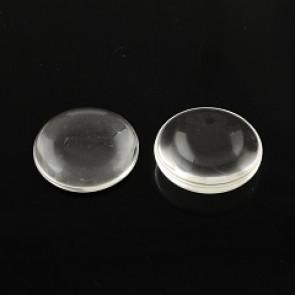 steklena kapljica 15 mm, prozorna, 1 kos