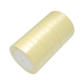 satenast trak krem, širina: 12 mm, dolžina: 22 m