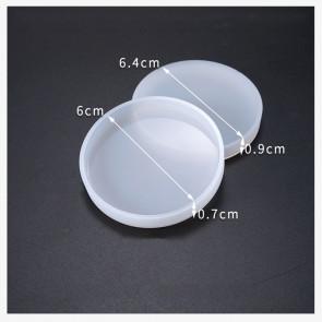 silikonski model 6.4x0.9 cm, oblika krog, 1 kos