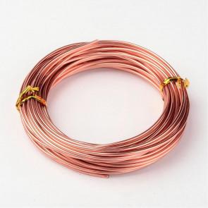 barvna žica za oblikovanje, 2 mm, Sandy Brown, dolžina: 10 m