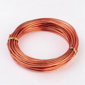barvna žica za oblikovanje, 2 mm, oranžna, dolžina: 10 m