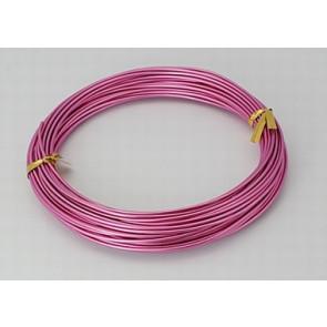 barvna žica za oblikovanje, 2 mm, pink, dolžina: 10 m