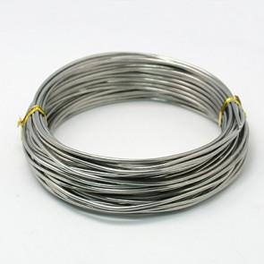 barvna žica za oblikovanje, 2 mm, platinaste b., dolžina: 10 m