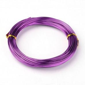barvna žica za oblikovanje, 1 mm, vijola, dolžina: 10 m