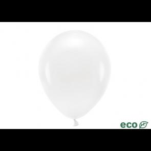 EKO balon, pastel, bela b., 26 cm, 1 kos
