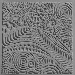 CERNIT teksturna plošča 9 x 9 cm, Freestyle, 1 kos