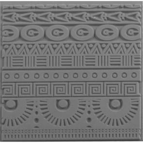 CERNIT teksturna plošča 9 x 9 cm, Geometrics, 1 kos