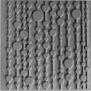 CERNIT teksturna plošča 9 x 9 cm, Pop Curtain, 1 kos