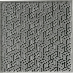 CERNIT teksturna plošča 9 x 9 cm, Block Stairs, 1 kos