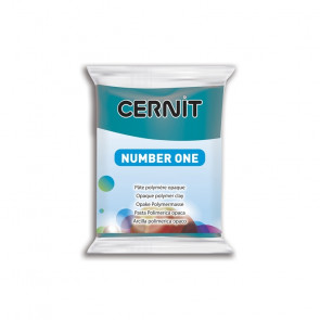 CERNIT NUMBER ONE, modelirna masa, Duck Blue (230), 56 g