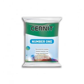 CERNIT NUMBER ONE, modelirna masa, Vert Emeraude (620), 56 g