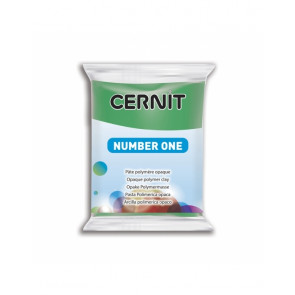 "CERNIT NUMBER ONE, modelirna masa, ""Green"" b. (600), 56 g"