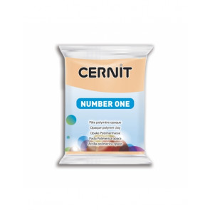 CERNIT NUMBER ONE, modelirna masa, Peach (423), 56 g