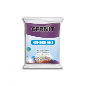 CERNIT NUMBER ONE, modelirna masa, Purple (962), 56 g