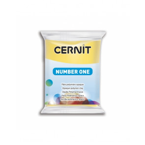 "CERNIT NUMBER ONE, modelirna masa, ""Yellow"" b. (700), 56 g"