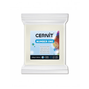 CERNIT NUMBER ONE, modelirna masa, White Opaque (027), 250 g