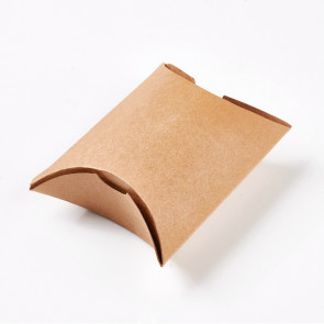 darilna škatla 9x10.5x3.5 cm, rjava, 1 kos