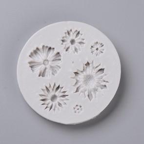 silikonski model 70.5x9.5mm, rože, 1 kos