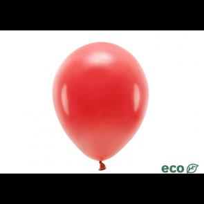 EKO balon, pastel, rdeča b., 26 cm, 1 kos