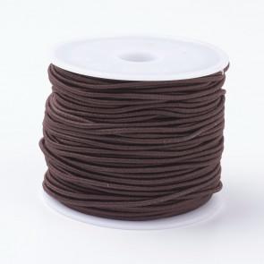 elastična vrvica, 1mm, rjava, 18-20 m