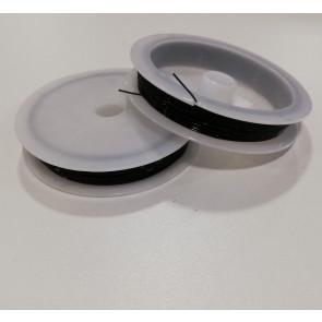 elastična vrvica 0,3 mm, rjava, kolut: 10 m