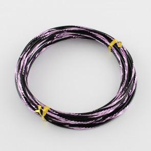 aluminijasta žica za oblikovanje, 2 mm, vijolična b., dolžina: 5 m, 1 kos