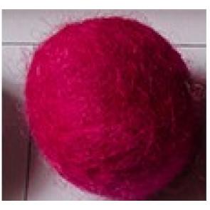 filc kroglice 2 cm, brink pink, 1 kos