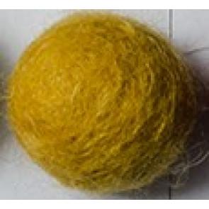filc kroglice 1 cm, sončnica rumene, 1 kos
