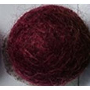 filc kroglice 1 cm, vinsko rdeče, 1 kos